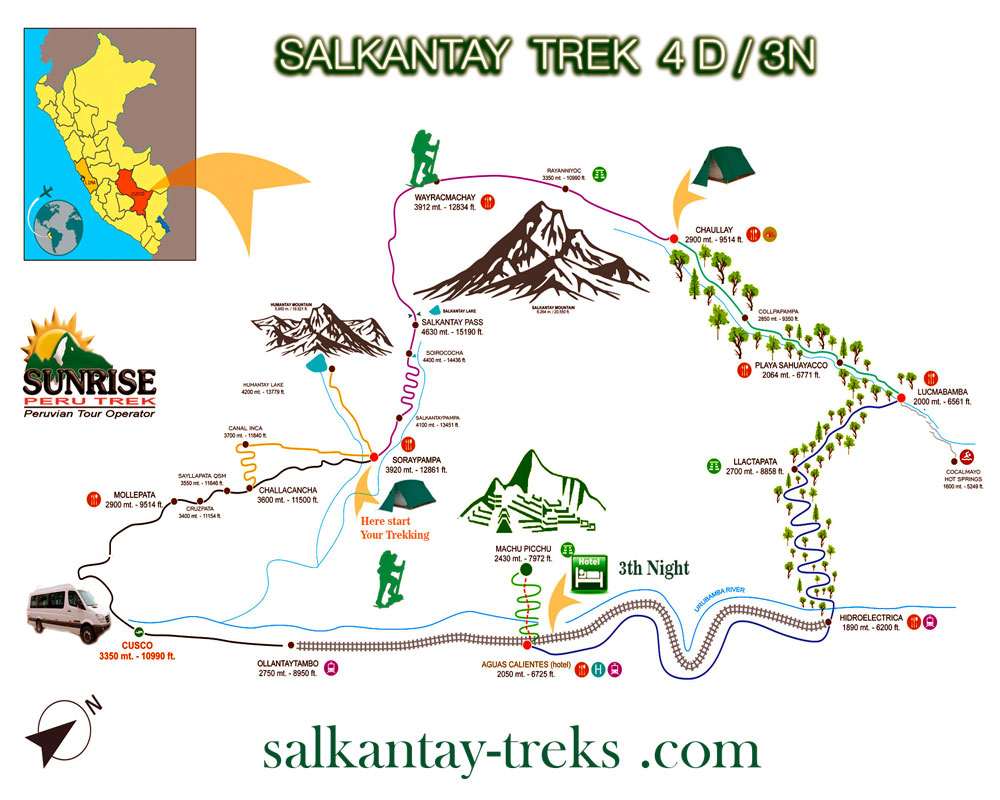 Scenic Salkantay Trekking & Expedition