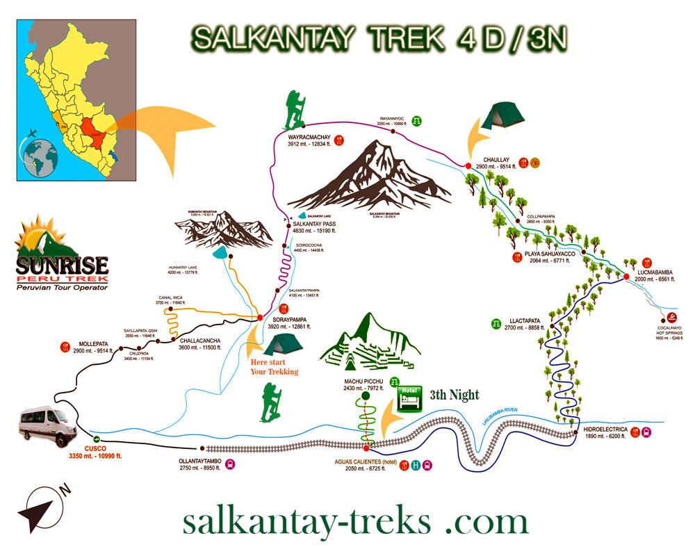 Scenic Salkantay Trekking & Expedition