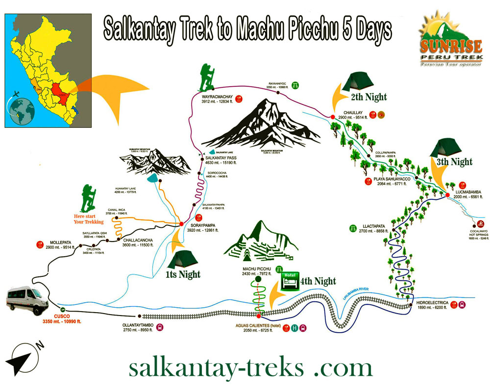 Top Salkantay Trek & Machu Picchu Tour