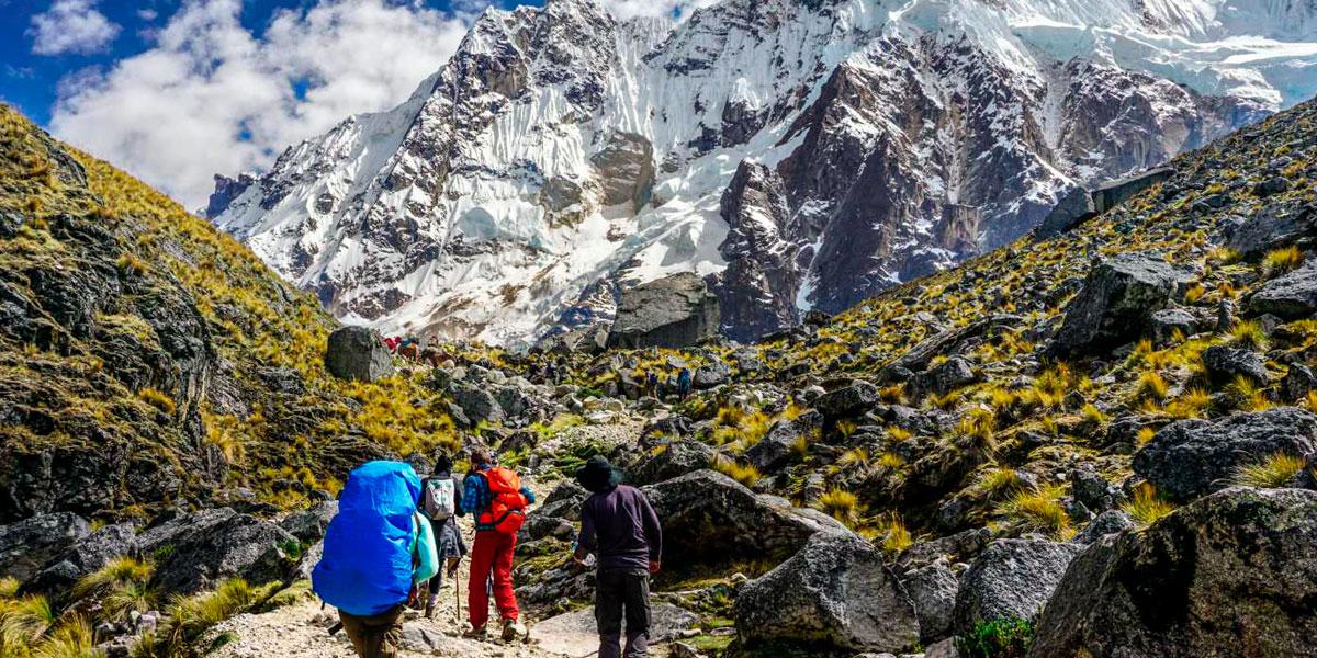 Beautiful Salkantay mountain